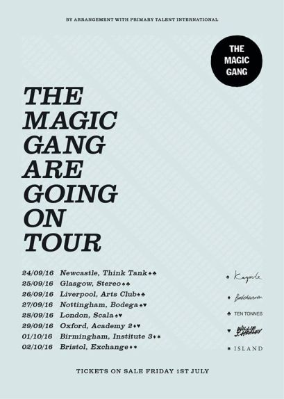 the magic gang tour